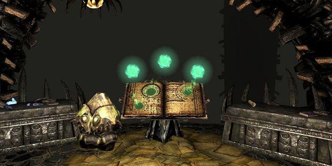 """Апокриф - мир, в который вы переноситесь после прочтения Черной книги Скриншот: """"UESPWiki"""""""
