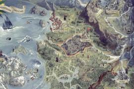 Карта Ведьмак 3