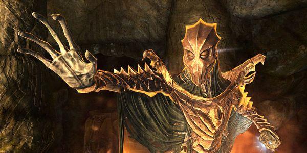 """Драконий жрец Азидал Скриншот: """"UESPWiki"""""""