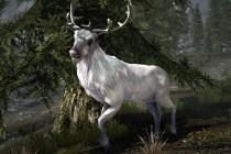 Чудовище - белый олень